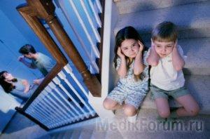 Развод родителей — причина инсульта