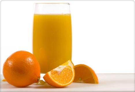 Апельсиновый сок защищает сосуды