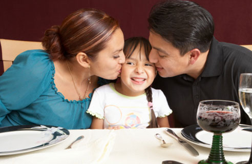 Семейные обеды и ужины улучшают качество жизни детей-астматиков