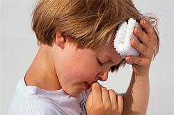Рвота у детей при мигрени