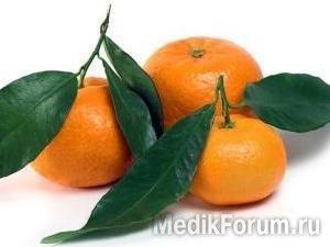 Сосудам помогут мандарины и хурма