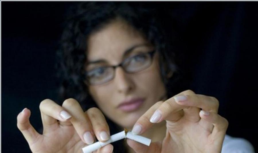Занятия спортом помогают бросить курить