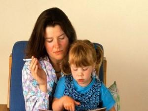 Табачный дым вызывает у детей астму и гипертонию