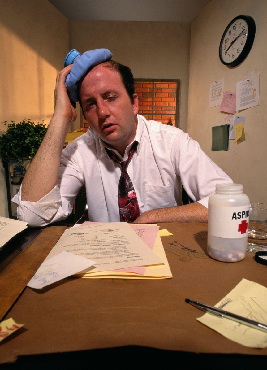 Боремся с головной болью напряжения