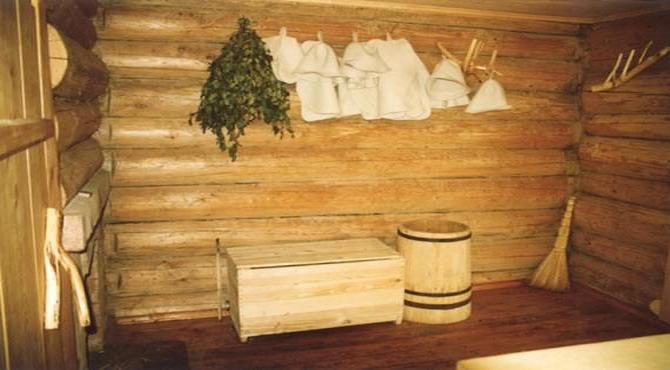 Благотворное влияние бани на организм человека.