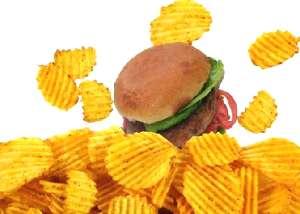 Нездоровая пища убивает клетки мозга