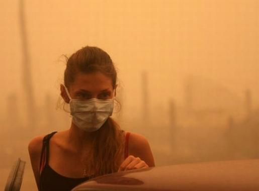 Торфяные пожары повышают риск сердечных и легочных заболеваний