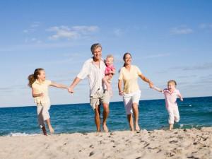 Счастье в семье бережет сердце