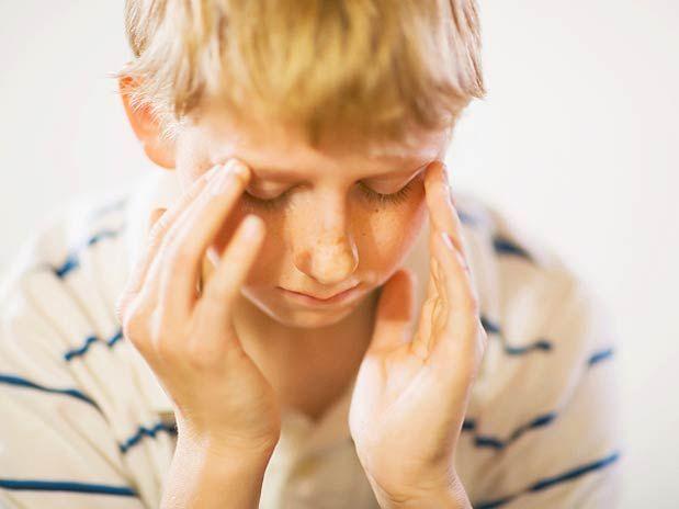 Голова болит от школы