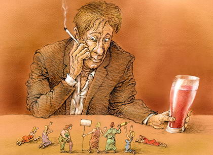 Наркотическая и алкогольная зависимость