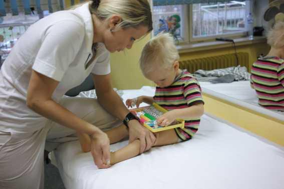 В Саяногорске применяют для детей войта-терапию