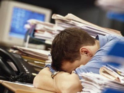 Работа в офисе влияет на здоровье