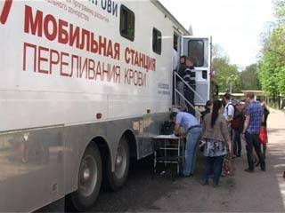 Более 100 смолян сдали кровь за один день донорской акции