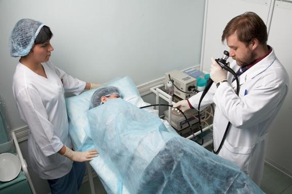 Проведение гастроскопии