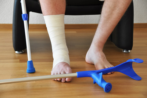 Сломанные кости могут срастись всего за неделю