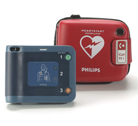 Philips оснастит дефибрилляторами все рейсы авиакомпаний KLM и Air France