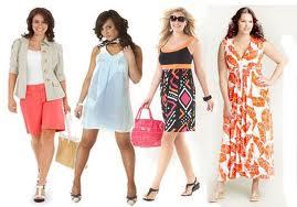 Подбор одежды для полных