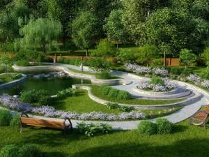 Мечта сада – ландшафтный дизайн