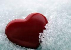 Холод вредит сердцу!