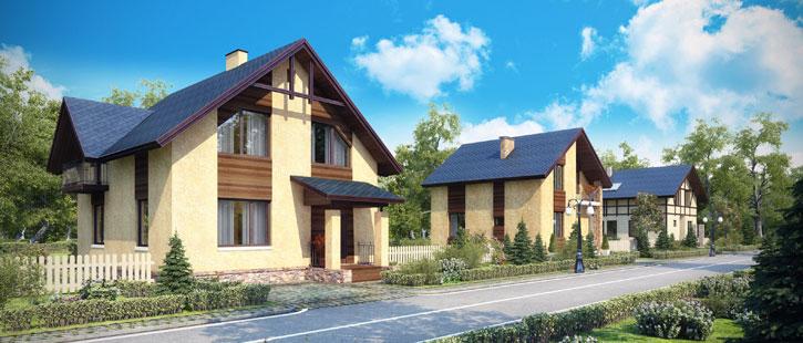 Оптимальные виды для комфортного жилья, в коттеджном поселке «Европа»