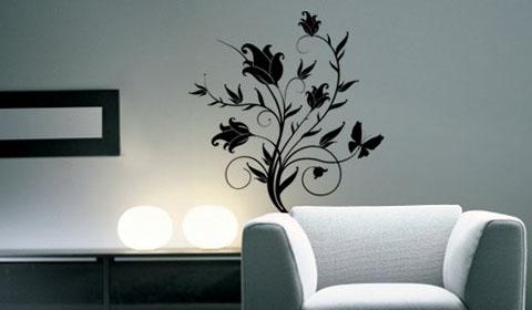 Декоративная роспись в квартире