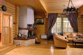 Преимущества «деревянного» интерьера