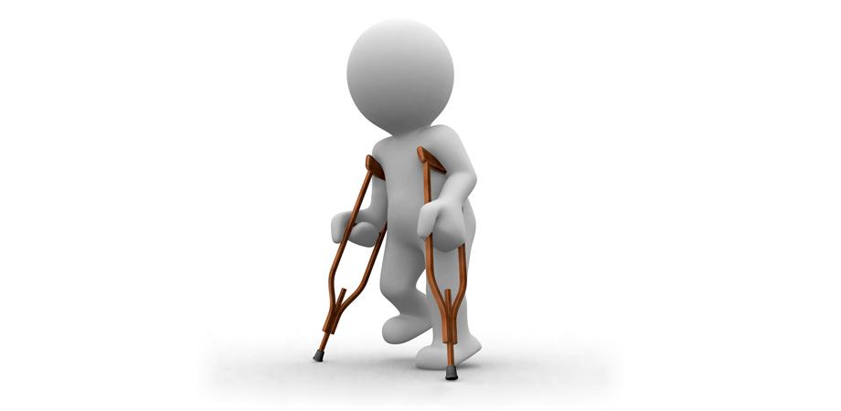 Поднять инвалида