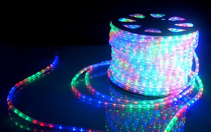 Дюралайт и современные возможности светового декора