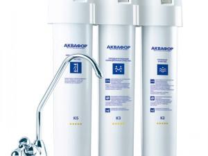 Глубокая чистка воды фильтрами Аквафор