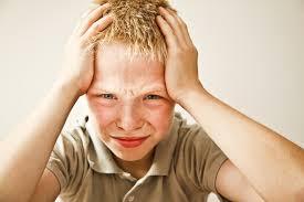 Школа вызывает у детей головные боли