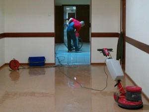 Уборка в нежилых помещениях