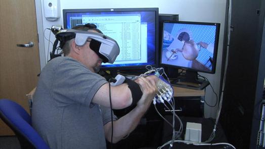 Может ли пациентам, перенесшим инсульт, виртуальная реальность помочь восстановить движение руки?