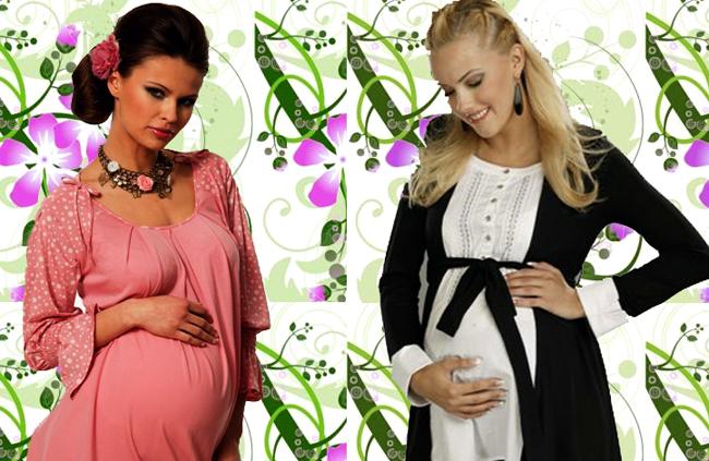 Женская одежда. Модный и современный гардероб для беременной