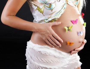 Психологи: беременные дамы думают правым полушарием мозга