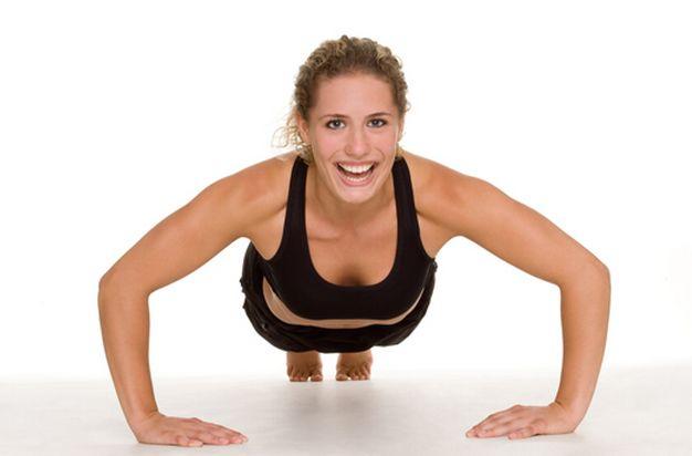 Развитие мышц рук у женщин