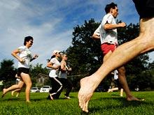 Открытие: бег босиком полезен для мозга