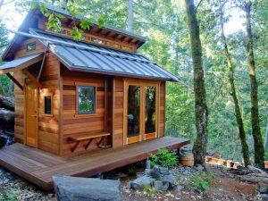 Из чего построить дачный домик