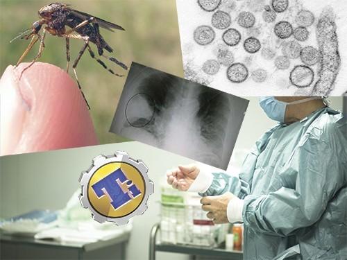 Куртка для диагностики пневмонии и генномодифицированные москиты
