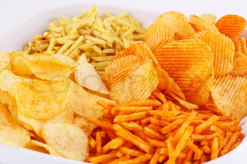 Чипсы и картофель фри могут представлять опасность для здоровья сердца