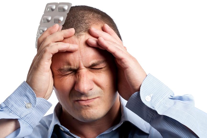 Как быстро избавиться от головной боли.