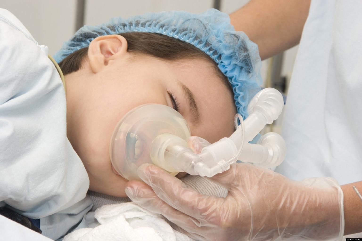 Анастезия у детей убивает память