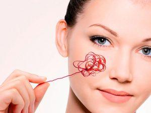 Удаление сосудистых звездочек на лице лазером — эффективный способ борьбы с кожными дефектами