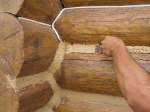 Герметик для сруба – создает комфорт и уют в доме