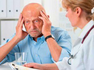 Последствием инсульта может стать слабоумие