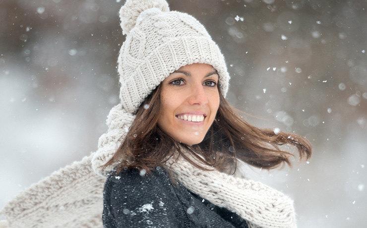 Как правильно и эффективно ухаживать за кожей лица в зимний период?