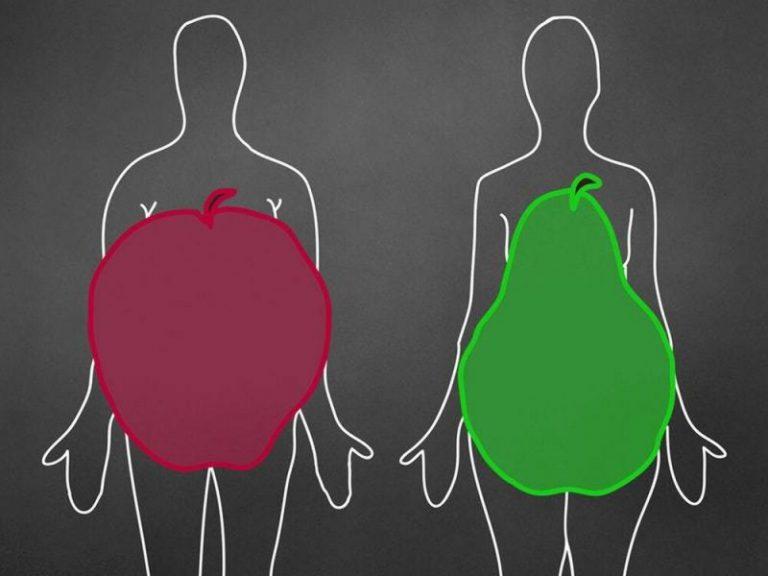Фигура в форме яблока повышает риск инфаркта в два раза