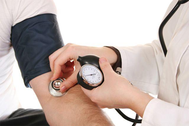 Высокое кровяное давление (гипертония)