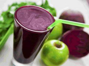 Натуральный свекольный сок помогает понизить высокое давление