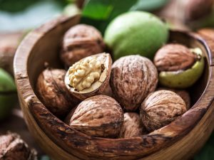 60-80 г грецких орехов в день полезны для сердца