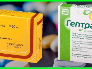 Чем отличаются препараты «Урсосан» и «Гептрал»?